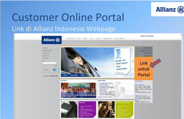 Customer Onlne Portal