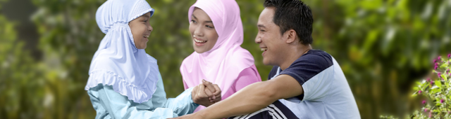 Ilustrasi Keluarga Bahagia, Gambar adalah milik PT. Asuransi Allianz Life Indonesia