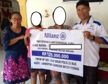 Agen Allianz Lamhotma Samosir, kedua Ahli Waris dan Agen Allianz Ranto Marbun