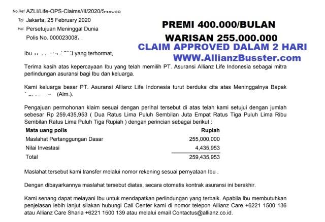 Claim Medan Helvetia 255 Juta