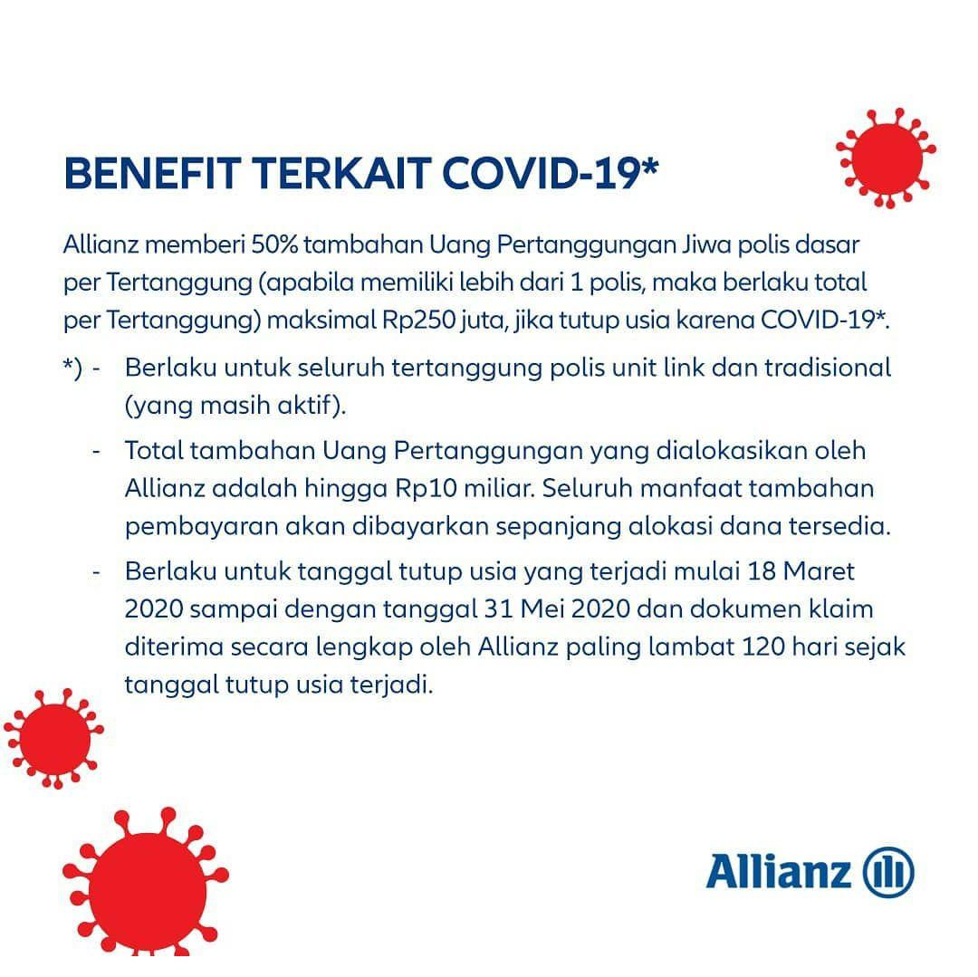 Benefit Covid-19